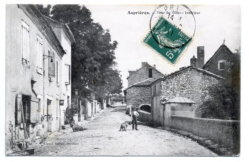 FRANCE - 12 - ASPRIERES CPA