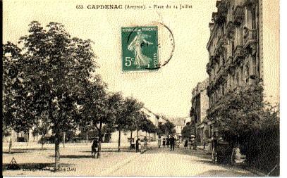 FRANCE - 12 - CAPDENAC GARE CPA
