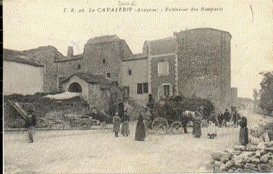 FRANCE - 12 - LA CAVALERIE CPA