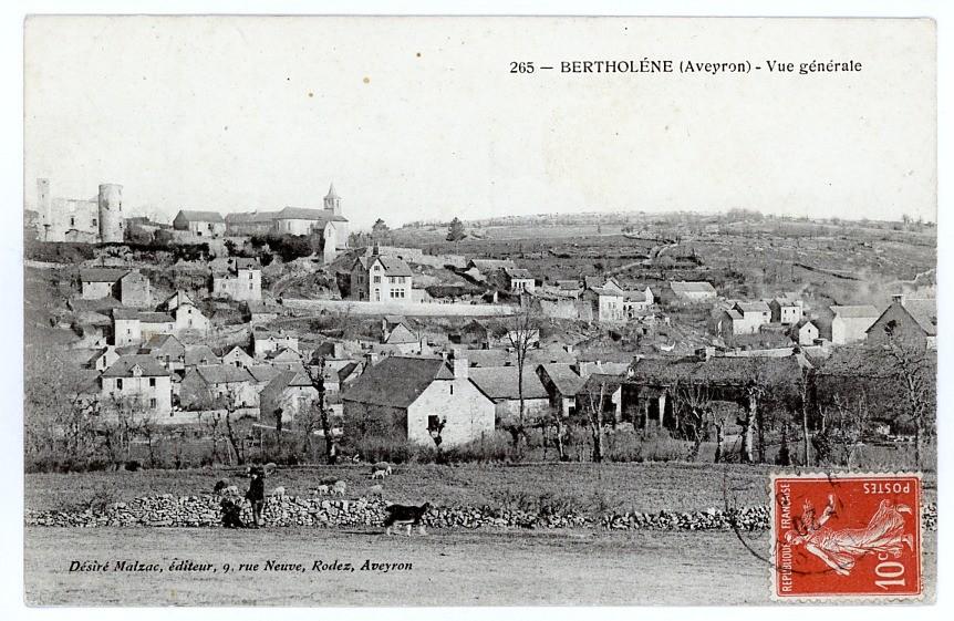 FRANCE - 12 - BERTHOLENE CPA