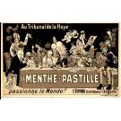 FRANCE - 49 - ANGERS CPA DESSIN PULICITE DE LA MENTHE PASTILLE